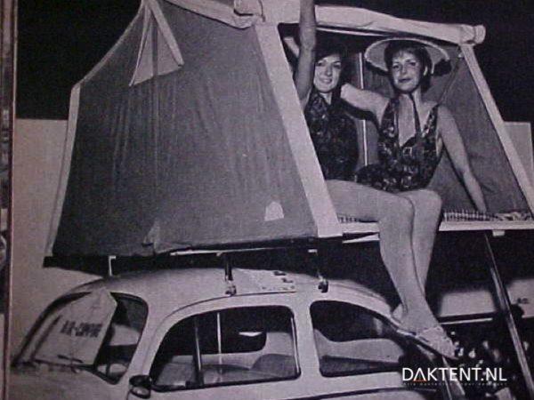 Air-Camping daktent oldtimer