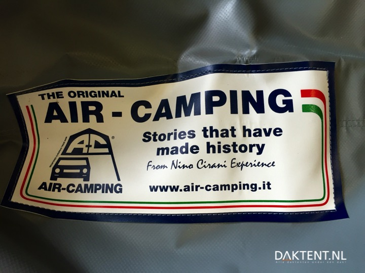 Air-Camping daktent label