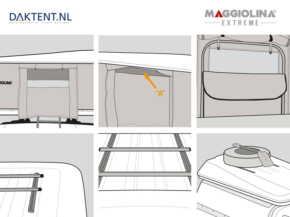 Maggiolina Extreme details