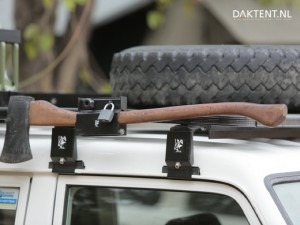 bijl bevestiging roof rack