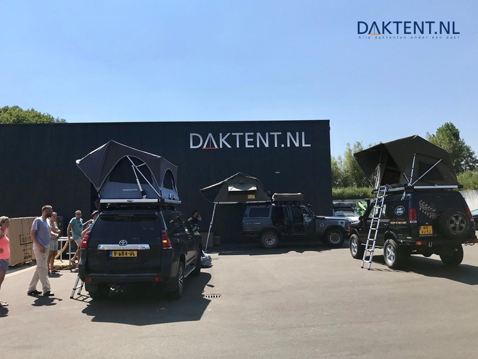 Daktent showroom