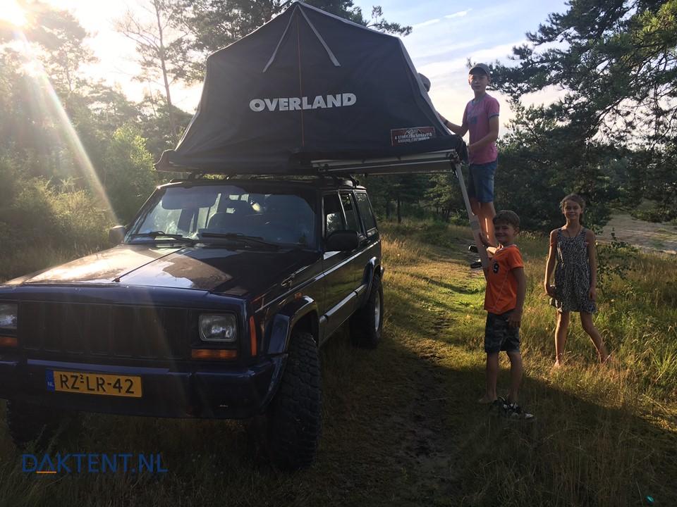 Jeep Cherokee daktent Overland