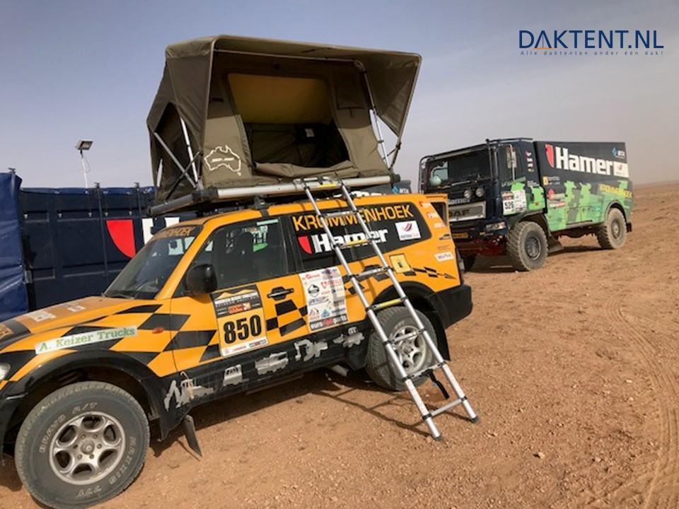 Jimba daktent Toyota woestijn