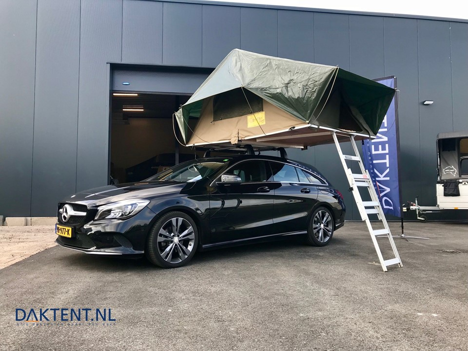 Mercedes CLA Shooting Brake daktent Jazz