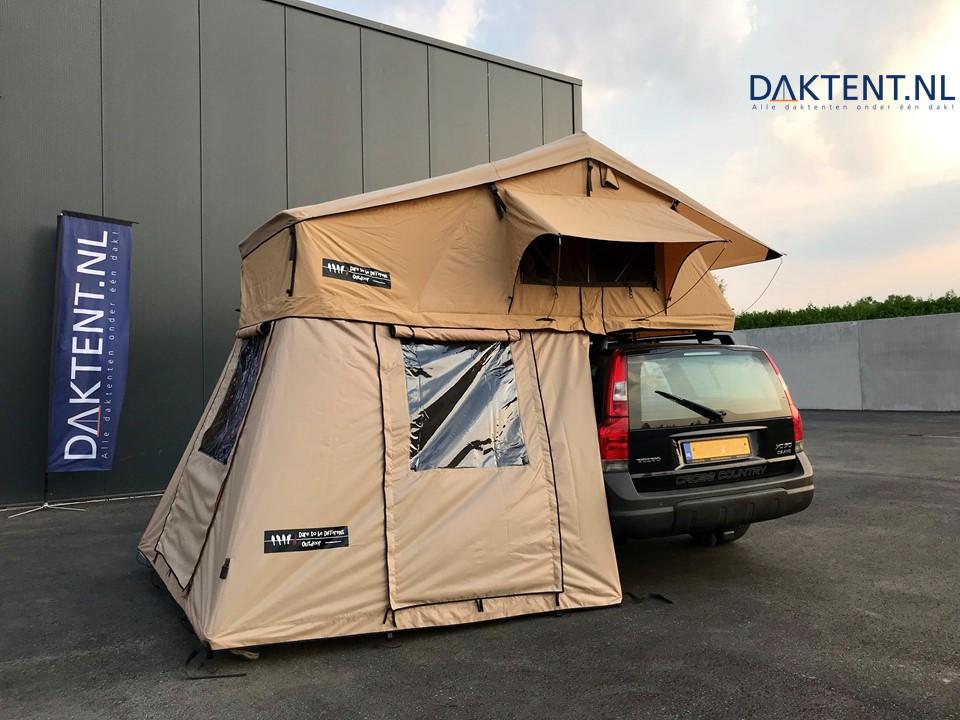 Volvo V70 DTBD 140CL roof tent 170 annex