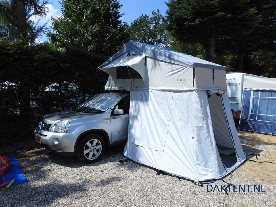 Daktent Nissan Campwerk Adventure 165 ondertent