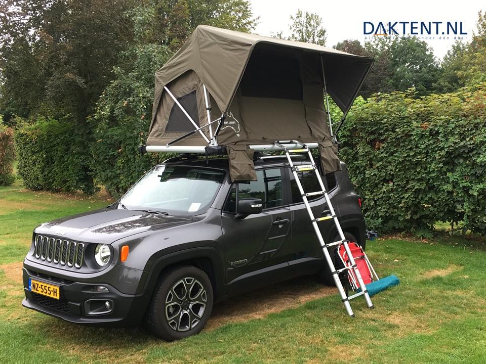 Jimba Jeep daktent klantfoto