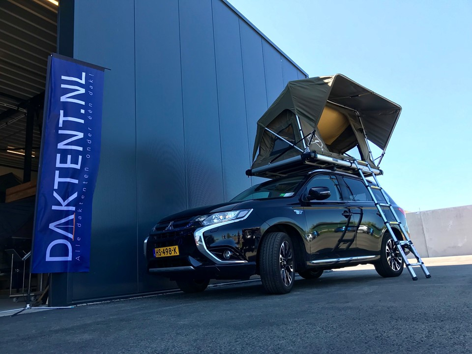 Mitsubishi Outlander PHEV daktent Jimba