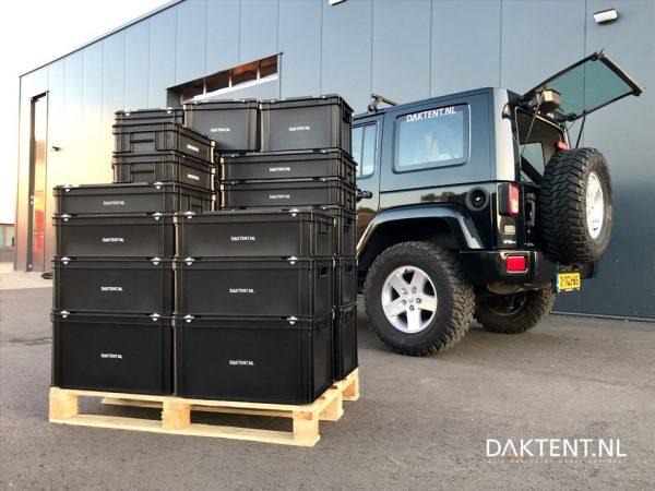 Opbergbox voor auto