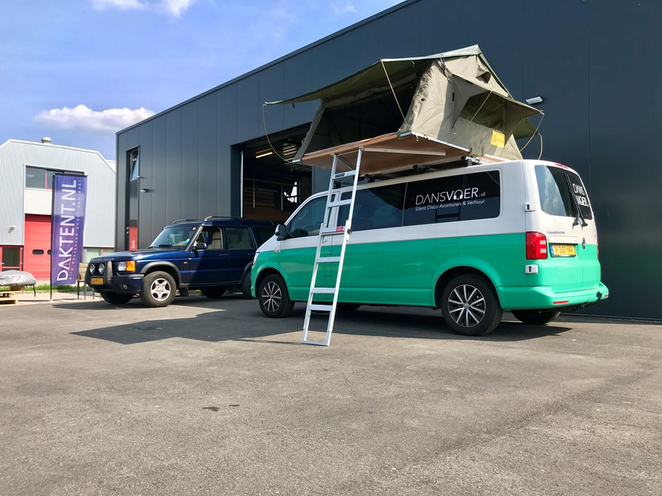 Volkswagen Transporter daktent Series 3