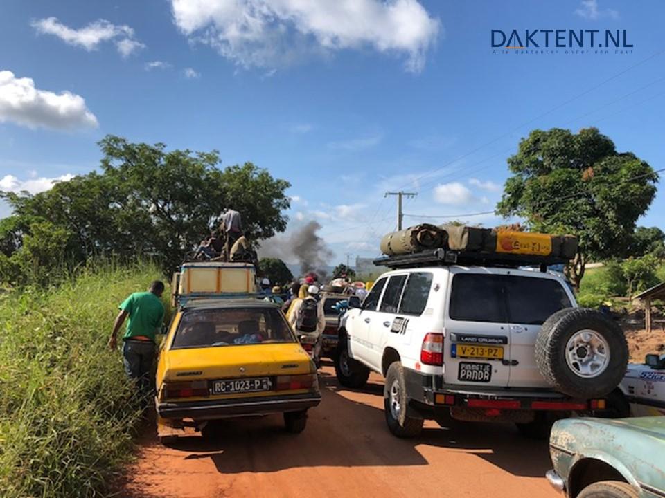 Landcruiser daktent series 3 Afrika