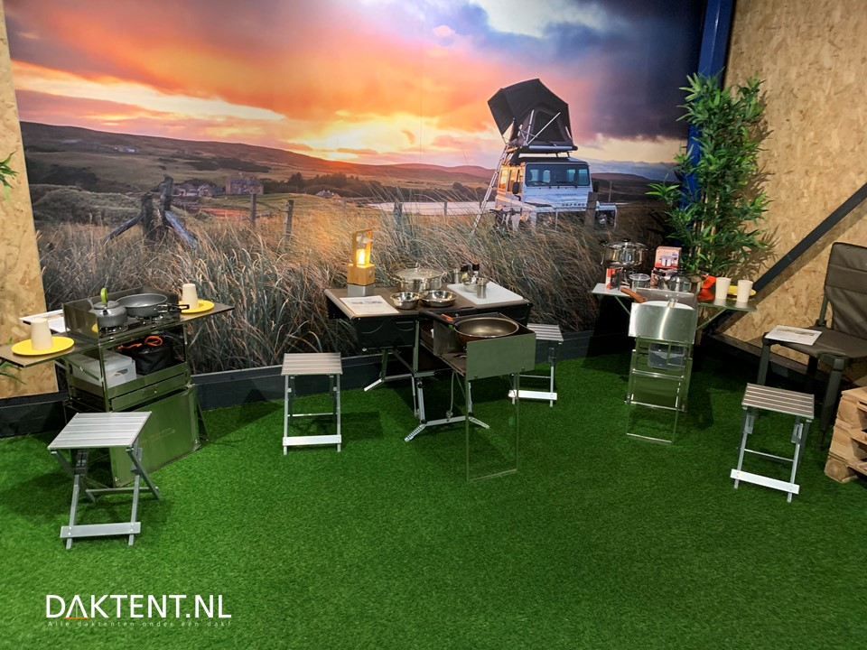 Kookkist showroom daktent