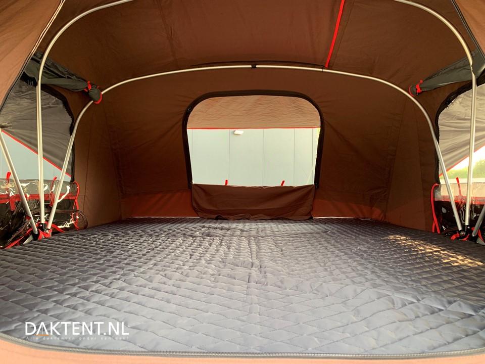 X-cover daktent binnenkant