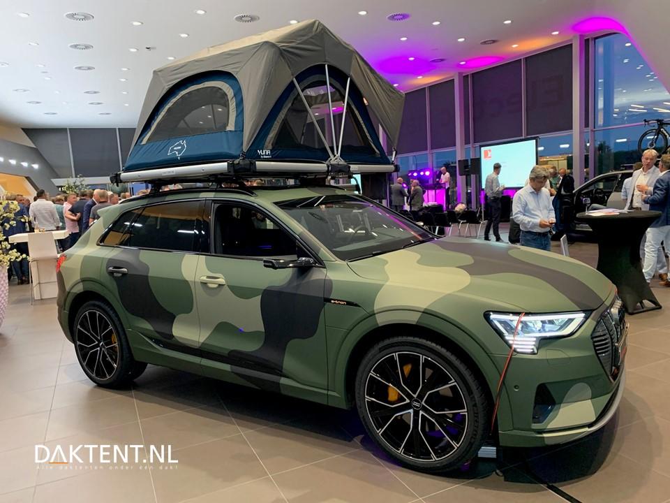 Audi e-tron daktent