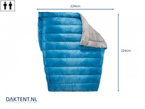 Vela Double 0C Quilt deken therm-a-rest