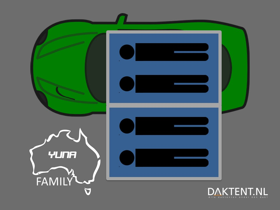 Yuna Family - 4 persoons daktent