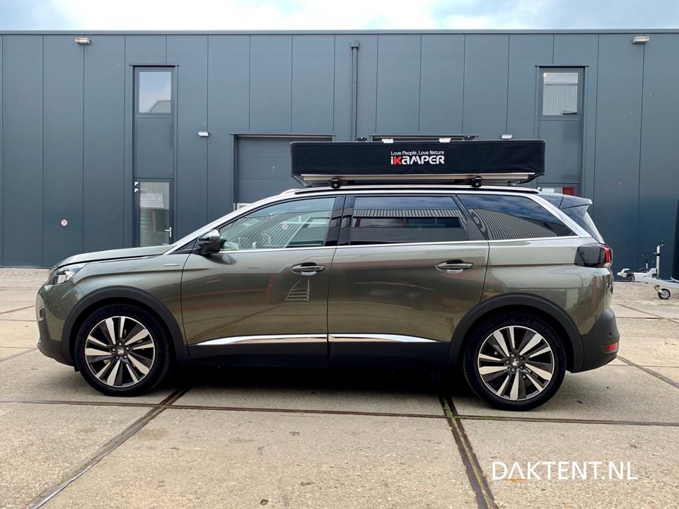 Peugeot 5008 daktent X-cover iKamper gesloten