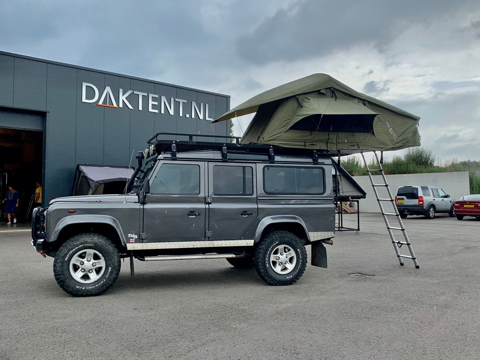 Dare To Be Different daktent 140L groen (1)