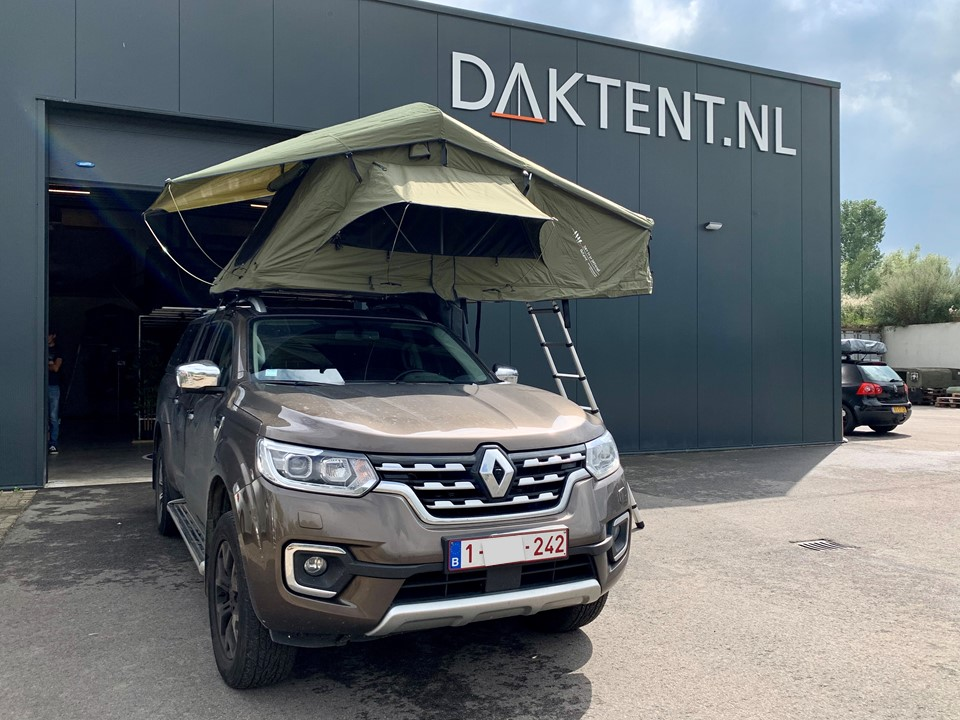 Dare To Be Different daktent 140L groen (2)