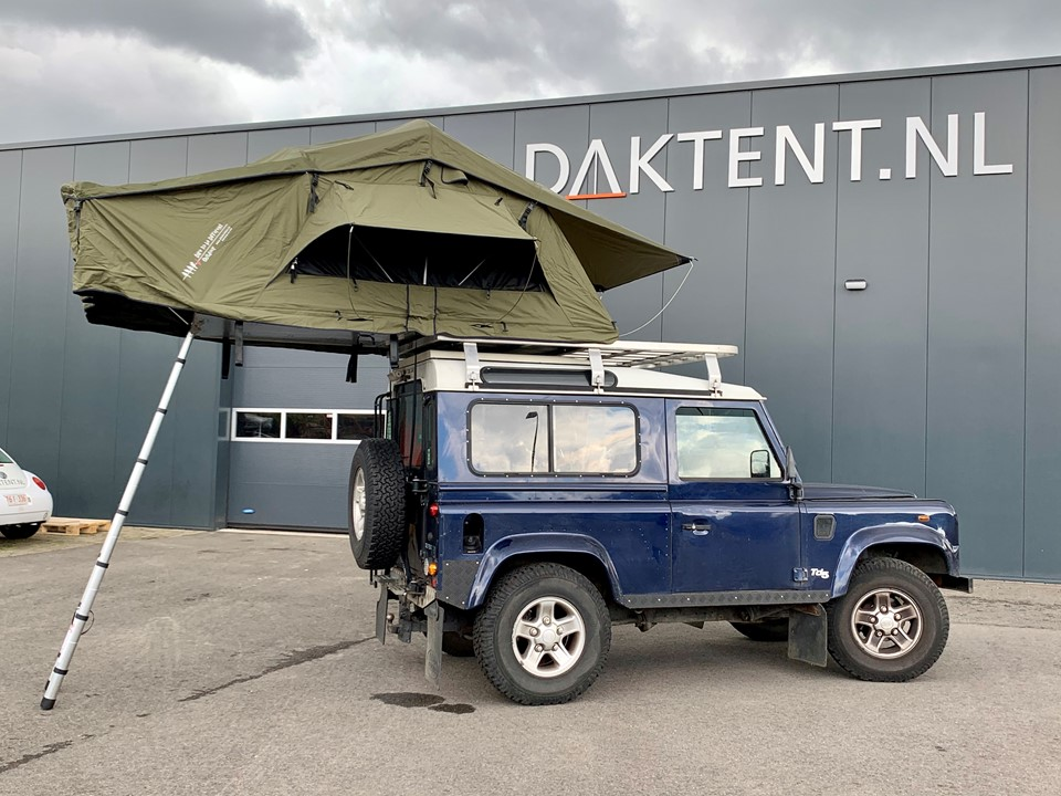 Dare To Be Different daktent 140L groen (3)